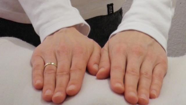Hände volle Grösse